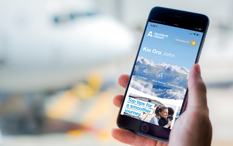 Download the Auckland Airport app