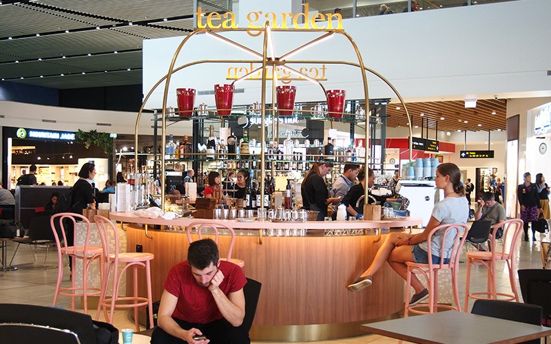 We often have coffee or a meal at the Down Under Cafe at