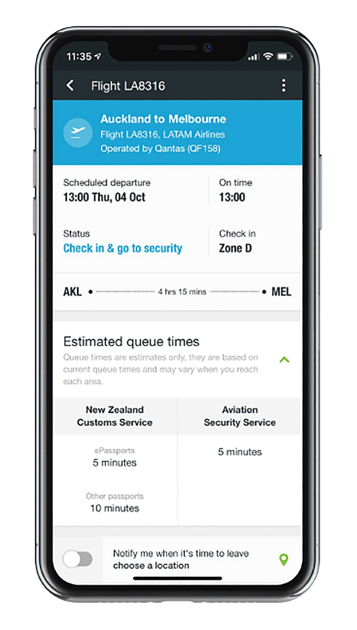 Auckland Airport app | Auckland Airport